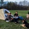 Robibero's Retreat outside of Poughkeepsie, New York. Still available for a Memorial Day weekend escape from the city! Photo by Tara Schatz via Hipcamp.- Your Guide to Last-Minute Camping
