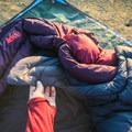 "The neck puff on the Joule wasn't quite as lofty, but I loved its ""U"" shape that really hugs the body nicely.- Gear Review: 4 Best Women's Sleeping Bags of 2018"