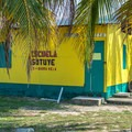 School building in the Garifuna village.- The Transformative Experience of Traveling Alone