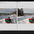Before and after comparisons help illustrate the dramatic effects of subtle adjustments to exposure.- Photographing Snow for White Whites