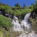 If you are chasing waterfalls, you need to head out in the late spring to early summer in the Rockies.- Going with the Flow: Seasonal Travel Tips