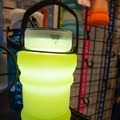 Seattle Sport's Firewater Plus doubles as a light/lantern and can collapse to whatever size you'd like it to be.- Outdoor Retailer Summer Market 2017