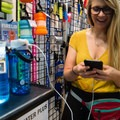Seattle Sports also offers the Powerlid, a solar-powered bottle lid that can charge your phone - and it fits onto your Nalgene, too!- Outdoor Retailer Summer Market 2017