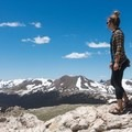 Laura at Rocky Mountain National Park. Photo by Shane Eubank.- Woman In The Wild: Laura Hughes