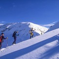 Skiing to Eiseman Hut with views of the proposed Spraddle Creek Wilderness. - Meet Conservation Colorado
