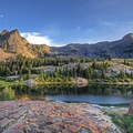 Lake Blanche and Sundial Peak.- 3-Day Itinerary for Big Cottonwood Canyon