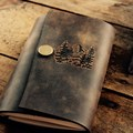 Leather journal from Portland Leather Goods.- Last Minute Gifts for Adventurers