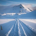 Navigating the snowy roads of southern Snaefellsnes.- Off the Beaten Path: A Quick Road Trip to Snæfellsnes, Iceland