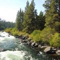 Rapids along South Canyon Reach.- Wednesday's Word - Deschutes