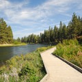 A walkway leads along South Canyon Reach.- Wednesday's Word - Deschutes