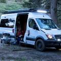 Sprinter van camper conversion by Outside Van based in Troutdale, Oregon. Photo courtesy of Outside Van.- The Best Camper Vans + Trailers