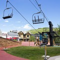 Town Lift takes off right from Main Street and Park Avenue.- The Best Hiking in Park City, Utah