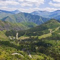 The town from above.- Adventuretown: Sundance, Utah