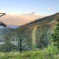 Looking at Bald Mountain from atop Deer Valley.- The Best Hiking in Park City, Utah