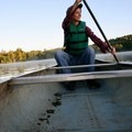 Sunrise canoe float at Radnor Lake State Natural Area outside Nashville.- Woman In The Wild: Sarah Connette