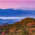 Early morning view from Newfound Gap Road in the Smoky Mountains. - Stunning Fall Adventures in the Central Appalachians