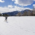 Beautiful views and a great place to soak up a sunny winter day at the Sun Valley Nordic Center.- 3 Days of Winter Adventure in Sun Valley, Idaho