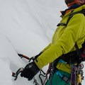 Struggling with the alpine, the wide handles are just annoying.- Gear Review: Cassin X-Dream
