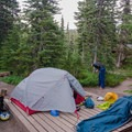 Hanging out beside the tent.- Gear Review: Outdoor Research Advanced Bivy