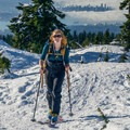 Cruising happily above the city.- Gear Review: G3 Via Snow Poles