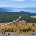Lake Tahoe views from the Tamarack Peak Loop.- Touring Tahoe: 10 Must-Do Summer Adventures