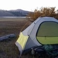 Camp at Snag Lake in Lassen Volcanic National Park.- Backpacking Essentials For Beginners
