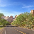 Heading west on Highway 24 in Capitol Reef National Park. - Must-do Scenic Drives in Utah