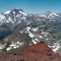 The Three Sisters from Broken Top's summit.- Head for the Hills: 6 Must Do Climbs!