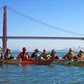 Kayaking the San Francisco Bay. (Photo courtesy of Lyrinda Snyderman, Save The Bay.)- Save The Bay: A Partnership for Restoration
