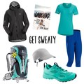 Trail Running gear package featuring Arc'teryx and Deuter.- A Month of Female Badassery