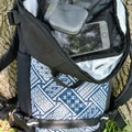 The top pocket, which is very easy to access.- Gear Review: Ethnotek Premji 20-Liter Travel Daypack