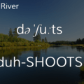 Deschutes River.- Wednesday's Word - Deschutes