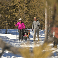With so many trails around West Yellowstone open to skiers, it is easy to find one at the right difficulty level. Photo courtesy of West Yellowstone.- 3-Day Winter Adventure Itinerary for West Yellowstone