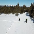 Enjoy classic and skate skiing tracks at select ski trails. Photo courtesy of West Yellowstone.- 3-Day Winter Adventure Itinerary for West Yellowstone