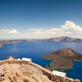 View of Crater Lake from The Watchman.- Crater Lake: The Lone National Park
