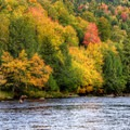 West Branch Ausable River, NY.- 15 Stunning Photos of Autumn in the Adirondacks