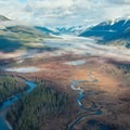 An aerial view of the Skeena watershed. Photo courtesy of Wild Salmon Center.- Protecting the Skeena River's Past and Future
