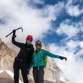 Training session in California.- Learning to Lead: Forming an All-female Lead Climbing Team