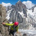East ridge of Grand Montets. - Learning to Lead: Forming an All-female Lead Climbing Team