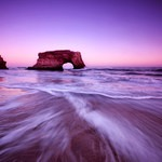 Natural Bridges State Beach, California, Outdoor Project