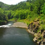 Wilson River, Cedar Butte Road Bridge, Northern Oregon Coast, Outdoor Project